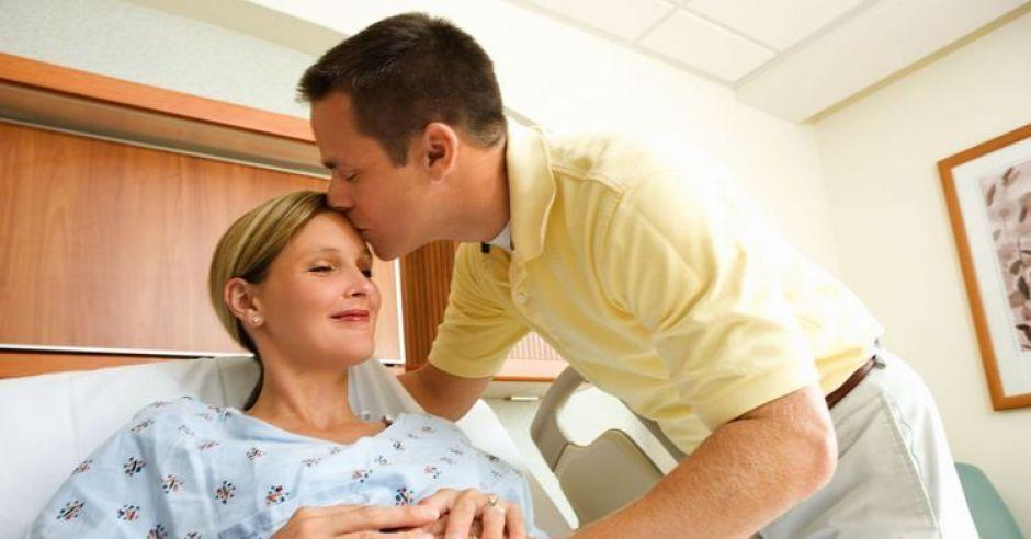 szpital, mama, tata, ciąża, poród