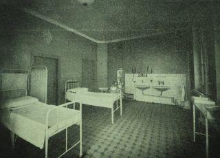 Szpital św. Zofii, sala porodowa, porodówka