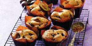 Szybkie muffinki ze śliwkami