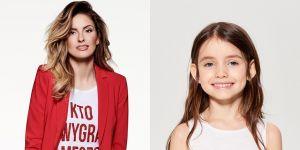 t-shirty dla mamy i córki Mohito - Dominika Grosicka