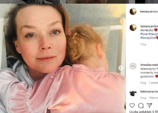 Tamara Arciuch: lekarz umniejszał jej poród bo miała cesarskie cięcie