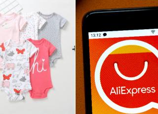 tania wyprawka dla noworodka na aliexpress