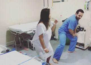 Taniec podczas porodu