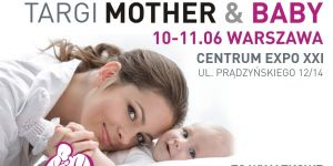 targi mother&baby plakat zajawkowy