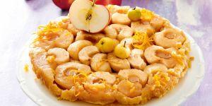 Tarta odwracana z jabłkami i cytryną