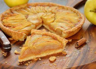 Tarta z jabłkami - przepis na tartę
