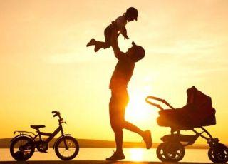 tata, dziecko, przedszkolak, zabawa