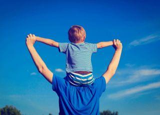 tata i dziecko, dzień ojca
