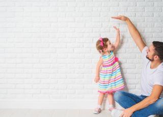 Tata i mała dziewczynka