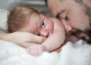 tata i niemowlę