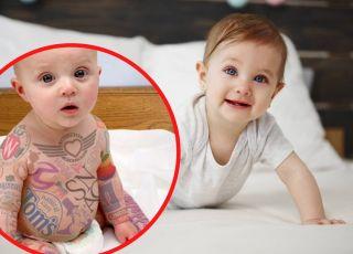 Tatuaże dla dzieci reklamują WYTATUOWANE NIEMOWLAKI!