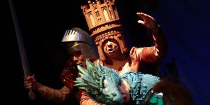 teatr, teatr lalki i aktora, rumak