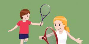 tenis ziemny ćwiczenia dla dzieci