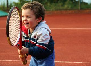 tenis dla dziecka, sport dla dziecka