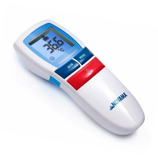 termometr bezdotykowyNovama Free, cena ok. 80 zł