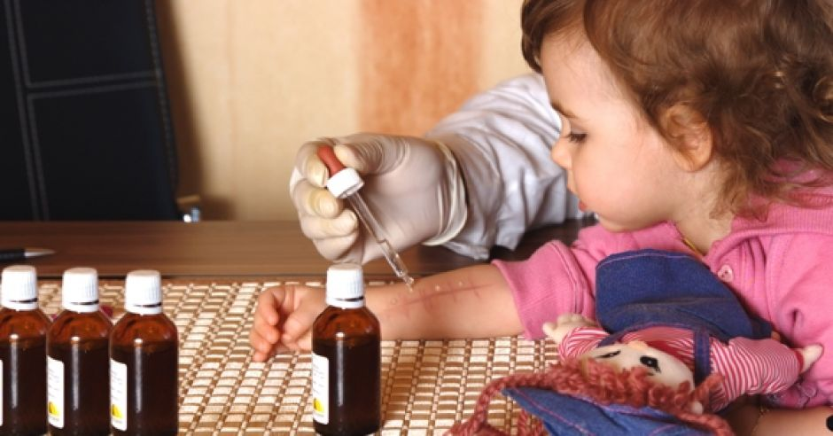 testy, skórne, alergia, dziecko