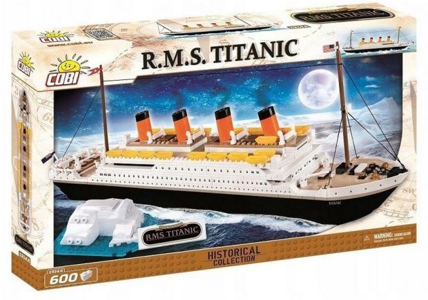 Titanic klocki Cobi