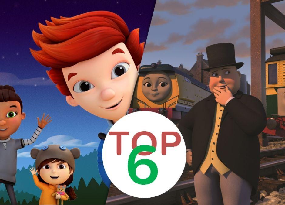Top 6 Bajek MiniMini+