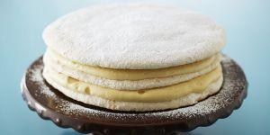Tort Dacquoise z orzechami laskowymi - według autorstwa Anny Olson/ Polsat Food Network