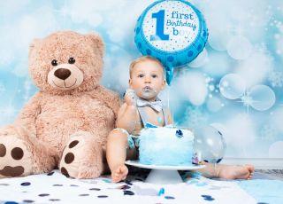 tort na roczek dla chłopca