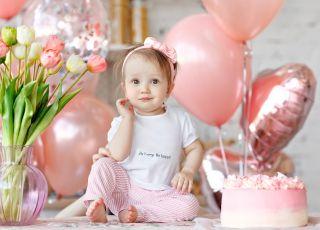 tort na urodziny dla dziewczynki