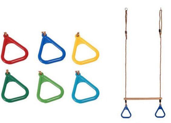 huśtawka trapez z uchwytami dla dzieci