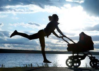trening z wózkiem, ćwiczenia z wózkiem