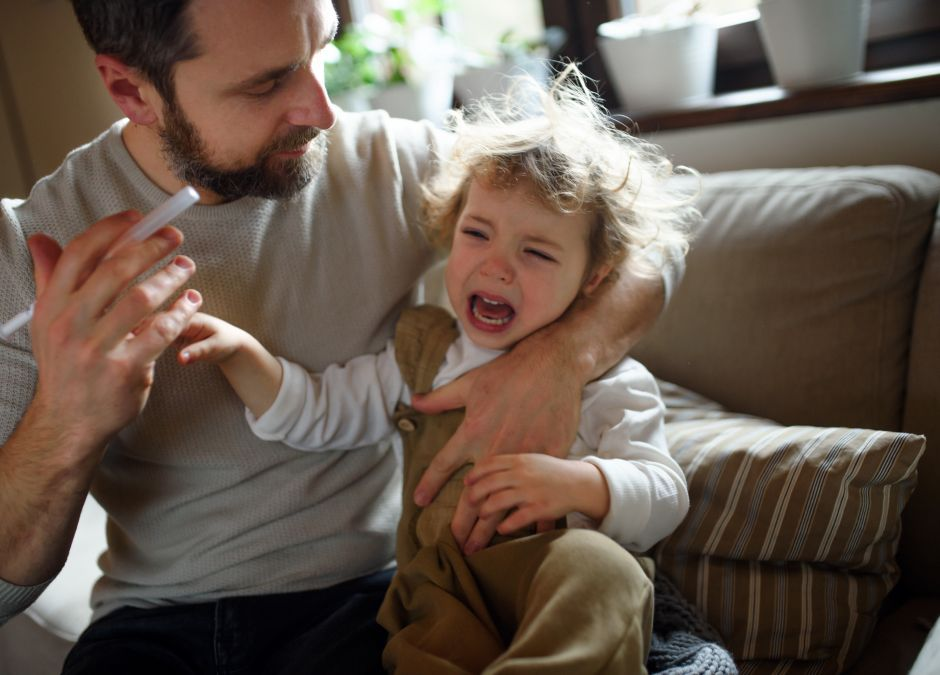 Trik na podawanie leków dziecku