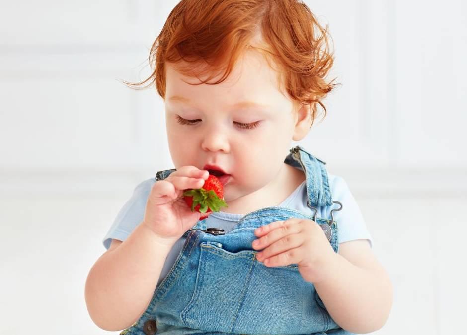 truskawki dla niemowlaka
