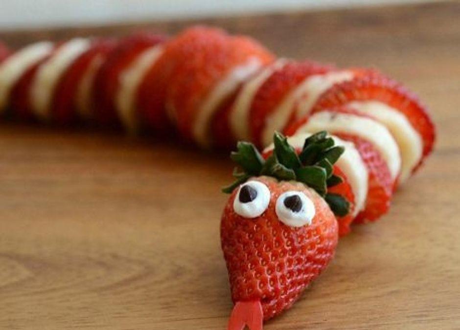truskawkowy wąż