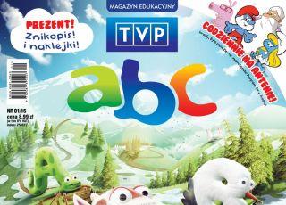 TVP abc, magazyn edukacyjny dla dzieci, okładka