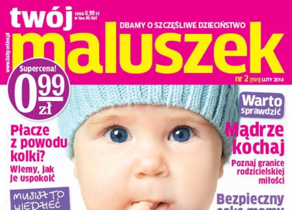 Twój Maluszek nr 2/2014, magazyn dla rodziców