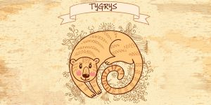 tygrys, horoskop chiński, horoskop dla dziecka