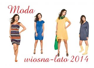 ubrania ciążowe, odzież ciążowa wiosna-lato 2014, sukienki ciążowe, spodnie ciążowe