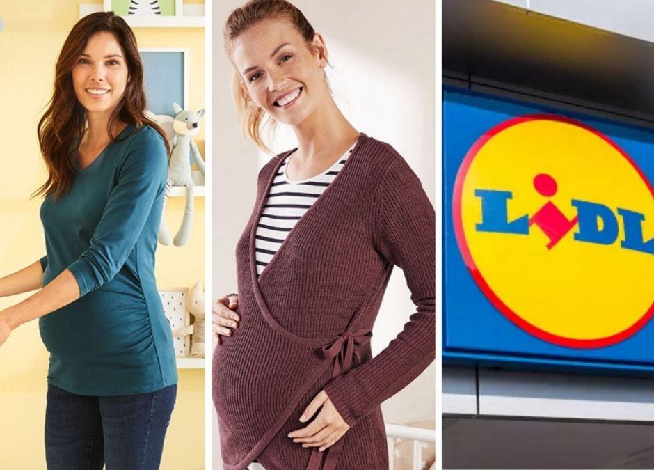 Ubrania ciążowe z Lidla