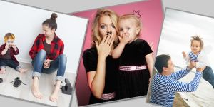 ubrania dla mamy i córki