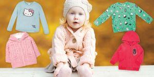 ubranka dla dzieci, swetry i bluzy dla dziewczynki, jesień i zima 2016-2017