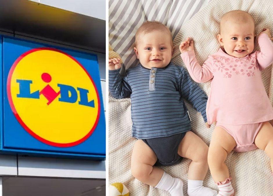 Ubranka niemowlęce w Lidlu
