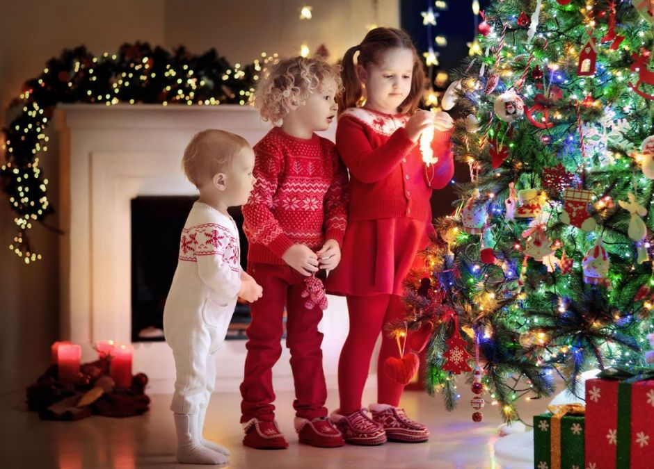 stylizacje świąteczne dla dzieci