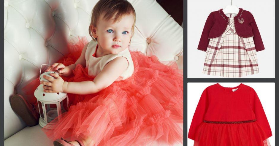ubranka świąteczne dla dziewczynki