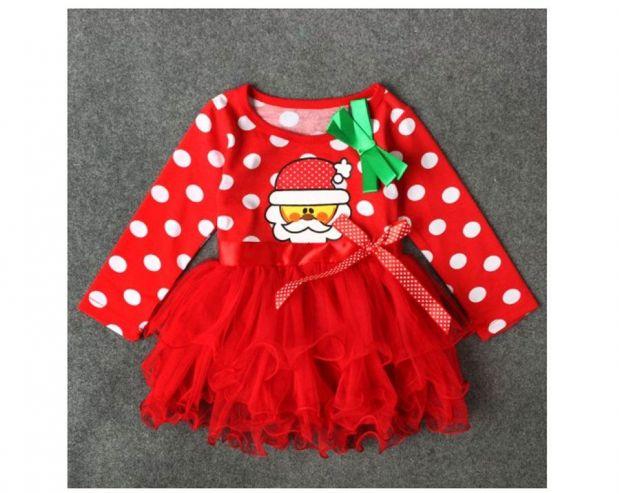 ubranka świąteczne dla niemowląt