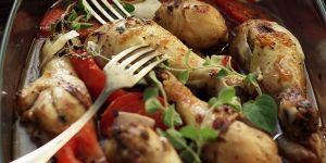 Udka z kurczaka z warzywami - przepis na obiad