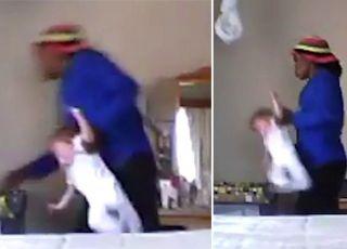 Ukryta kamera nagrała szokujące zachowanie opiekunki