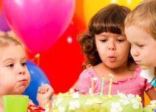 urodziny, dzieci, przyjcie urodzinowe, kinderbal, świeczki, zabawa urodzinowa