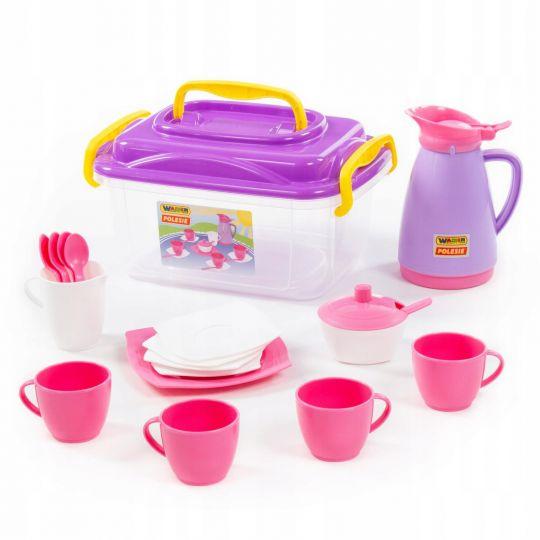 prezent dla 3-latki - zestaw do herbaty