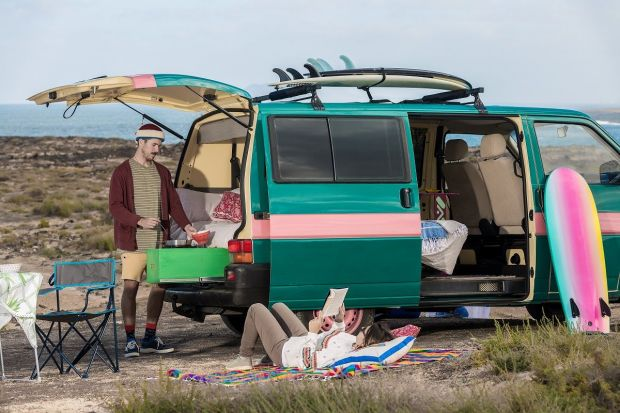 wakacje w kamperze - kamper-van