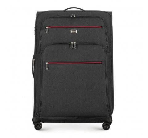 walizka wykonana z miękkiego materiału