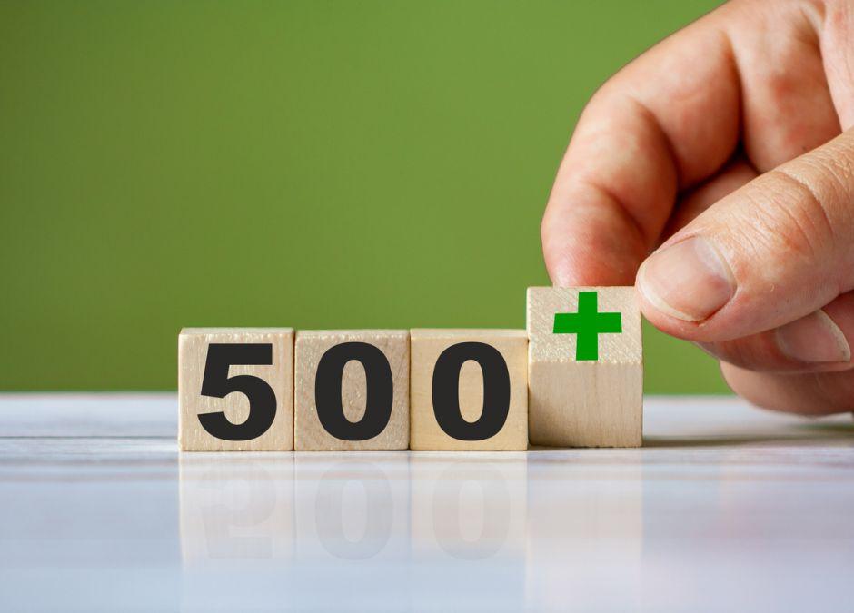 Waloryzacja 500 plus