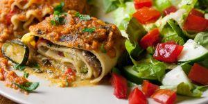 warzywna lasagne