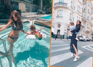 Weronika Rosati uczy córkę niebezpiecznych zachowań?